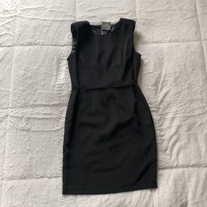 Topshop Tall Black Sheath Dress | Size 8